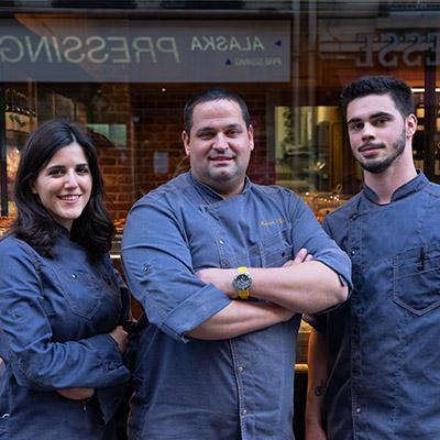 L'équipe de la fromagerie Maison Lillo