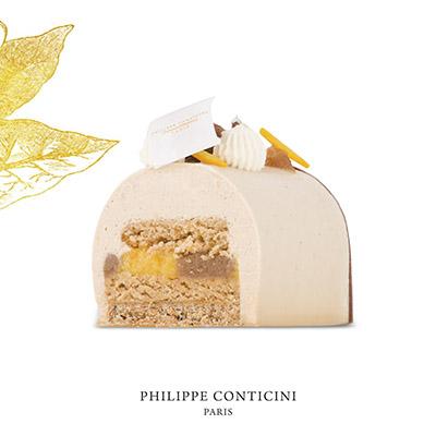 Bûche de Noël marron de Philippe Conticini