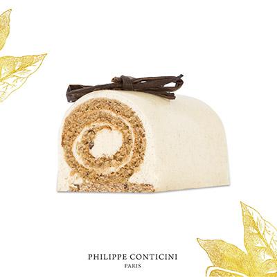 Bûche de Noël vanille de Philippe Conticini