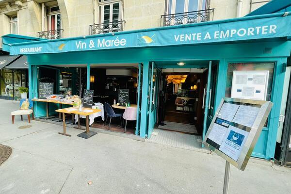 Livraison du restaurant Vin & Marée