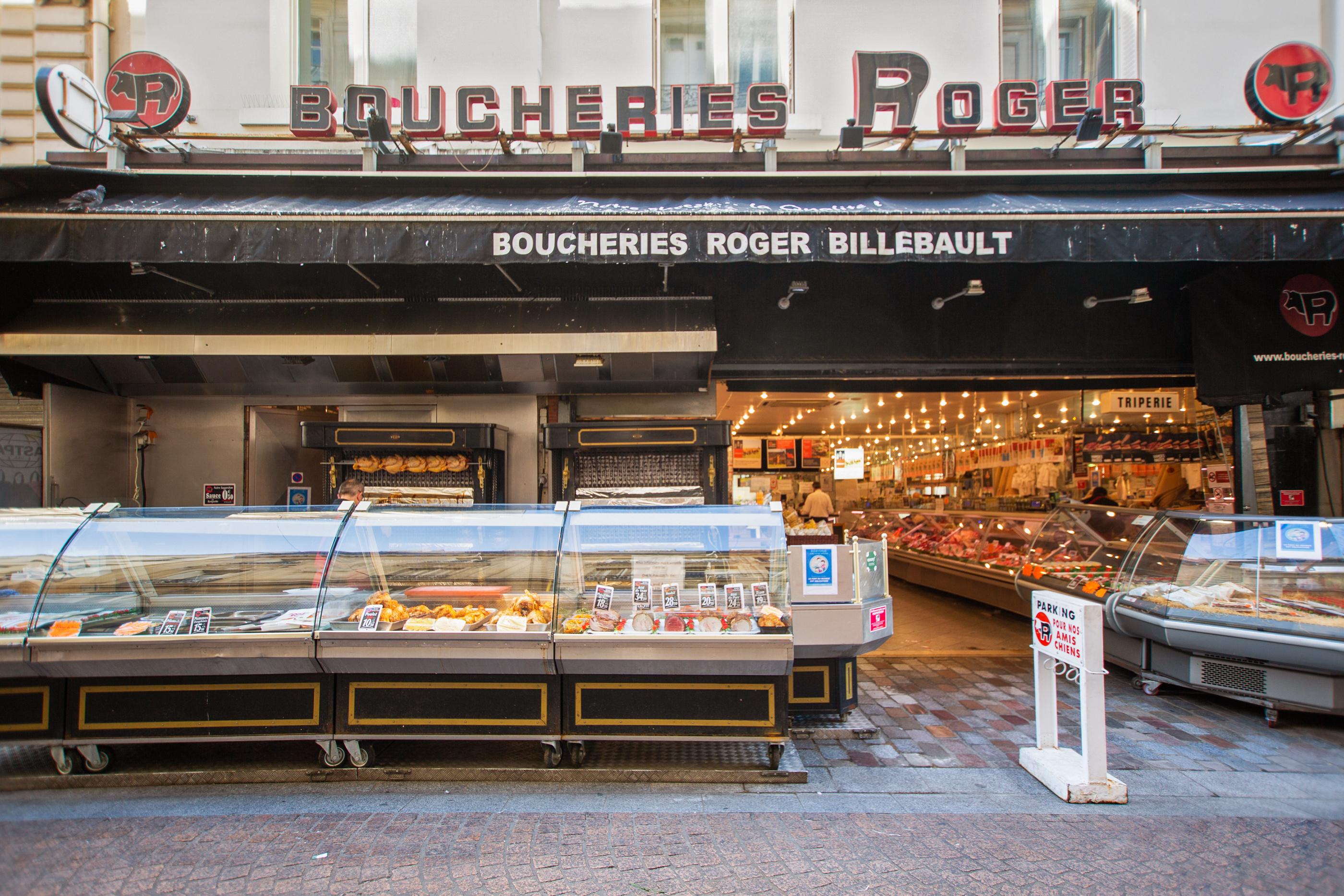 Boucherie Roger, Rue de l'Annonciation