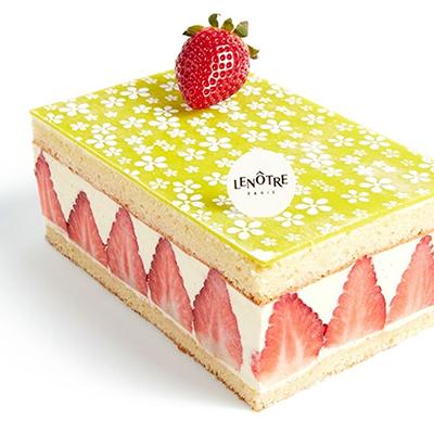 Livraison fraisier Lenôtre