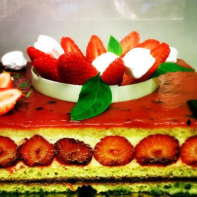 Livraison fraisier Patisserie Dorin à Bordeaux