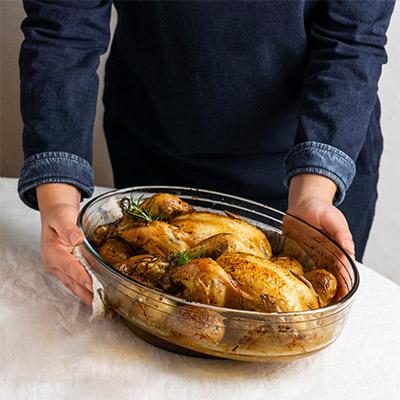 Livraison de poulet rôti